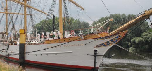 Die Schulschiff Deutschland feiert ihren 90. Geburtstag.