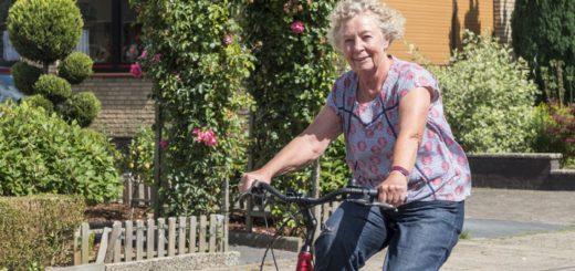 Marion Lösking wünscht sich einen Fahrradbeauftragten bei der Stadt Delmenhorst, der sich für die Belange der Radler einsetzt.Foto: Konczak
