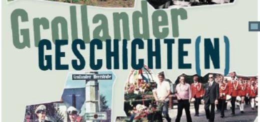 """Der Journalist Gerwin Möller hat das Buch """"Grollander Geschichten"""" über seine Heimat Grolland herausgebracht. Das Buch lebt von historischer Akkuratesse, Archivarbeit, aber auch von dutzenden Gesprächen mit Zeitzeugen und vielen Anekdoten. Bild: Kellner Verlag"""