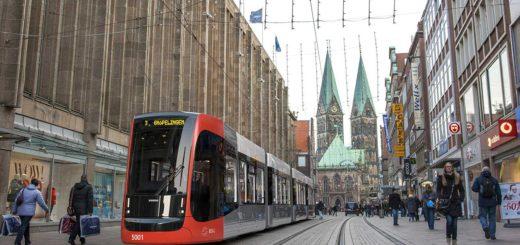 Neue Straßenbahn. Foto: BSAG