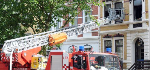 Feuerwehreinsatz Hohentorsheerstraße_1. Foto: Schlie
