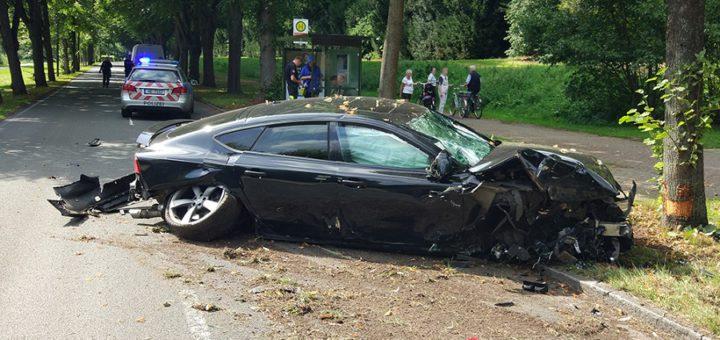 Unfallbild16.08.2017. Foto: Polizei Bremen