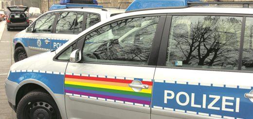 Die Polizei Bremen nimmt ebenfalls am Demonstrationszug teil – mit einem besonders gestalteten Fahrzeug. Die Montage zeigt, wie dieses aussehen könnte. Montage: WR