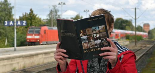 Im neuen Heimatjahrbuch erfährt man unter anderem, wie die Eisenbahn nach Delmenhorst kam. Mit dem neuen Verkehrsmittel hielt auch die Industrie Einzug in die Stadt.Foto: Konczak