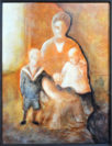 Zu diesem Kunstwerk wurde Ole Markmann durch eine alte Familienfotografie inspiriert. Foto: Konczak