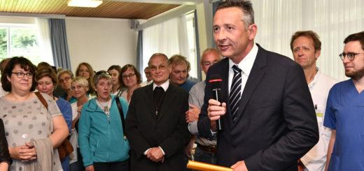 Seit Ende August ist Ralf Delker der Geschäftsführer des Josef-Hospital Delmenhorst.Foto: Konczak