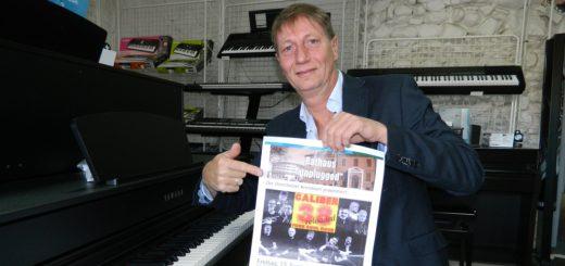 """Detlef Gödicke, Initiator der Konzertreihe """"Rathaus unplugged"""", freut sich auf das Comeback der Gruppe """"Caliber 38"""" in Osterholz-Scharmbeck. Foto: Bosse"""