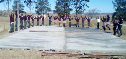 Dank Spenden der Leser von HAMME REPORT und WÜMME REPORT konnte in Südafrika ein Sportplatz gebaut werden. Foto: red