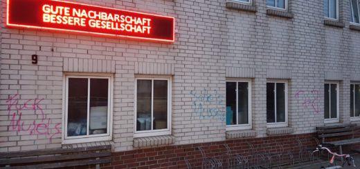 Parolen_Moschee. Foto: IFB