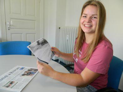 Nach ihrem entwicklungspolitischen Freiwilligendienst ist Anna Leu zurück in Deutschland.  Foto: Bosse