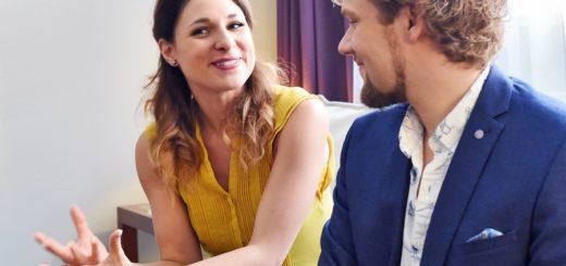 Amélie van Tass und Thommy Ten: Die Österreicher sind nicht nur auf der Bühne ein zauberhaftes Pärchen.Foto: Schlie