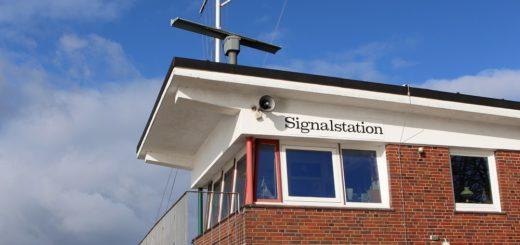 Wissen rund um die Weser, Ebbe und Flut sollen an der Signalstation vermittelt werden. Foto: Harm