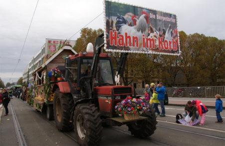 """Der Beitrag aus Bergedorf fiel unter das Motto """"Hahn im Korb"""""""