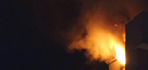Die hiesigen Feuerwehren waren Sonntagabend in Delmenhorst-Deichhorst im Einsatz. Foto: av