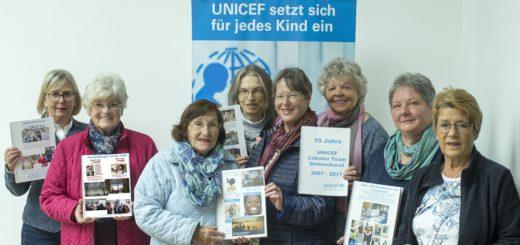Delmenhorster Ableger des Kinderhilfswerks Unicef feiert sein zehnjähriges Bestehen. Foto: pv