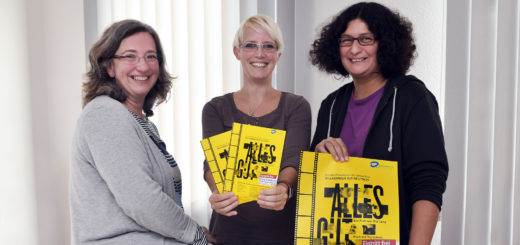 Saskia Kamp (AWO), Wiebke Machel (Diakonie) und Martina Gäbel (erzieherischer Jugendschutz der Stadt Delmenhorst) haben zum zweiten Mal einen besonderen Kino-Abend organisiert (v.l.). Foto: Konczak