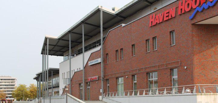 Das vordere Areal des Haven Höövt soll Anfang 2019 abgerissen werden. 180 Wohnungen sollen dort in mehreren Einzelgebäuden entstehen. Foto: Harm