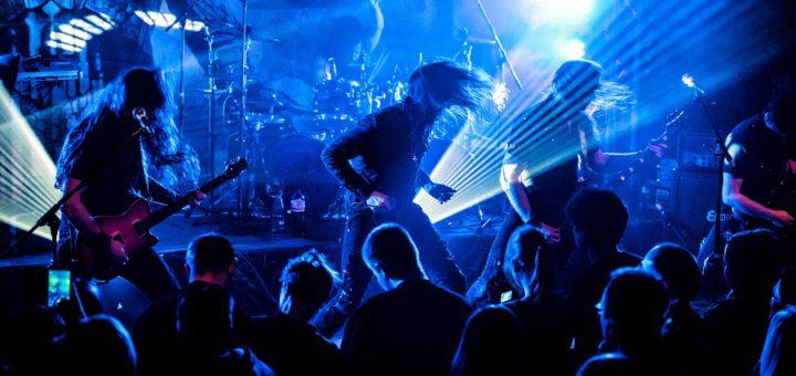 """Beim Konzert im Slatterys präsentieren """"Mob Rules"""" insbesondere Songs aus ihrem aktuellen Album """"Tales From Beyond"""".Foto: Helena Wu"""