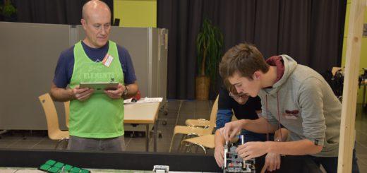 Lego-Roboter-Wettbewerb bei der KGS Brinkum