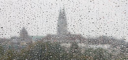 Wenn man aus dem Fenster schaut und das sieht, ist es an der Zeit für Anti-Schmuddelwetter-Beschäftigungstherapie. Foto: Lürssen