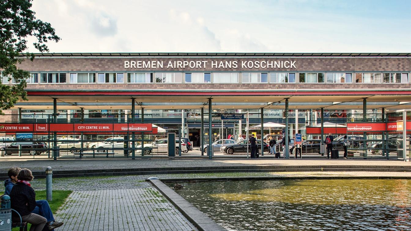 Bremen Frankfurt Flug