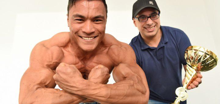 xs- Freisteller_Bodybuilder + Coach_4sp. Foto: Schlie