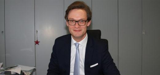 Seit gut 14 Monaten ist Kristian Willem Tangermann (CDU) Bürgermeister der Gemeinde Lilienthal. Foto: Möller