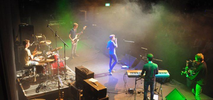 Beim Schulrockfestival treten junge Bands gegeneinander an. Foto :Jannick Mayntz