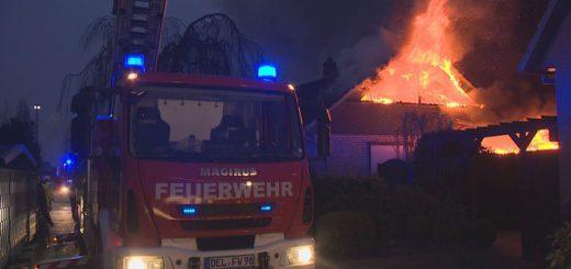 Am späten Freitagnachmittag musste die Delmenhorster Feuerwehr gleich zweimal ausrücken. Foto: Eckert