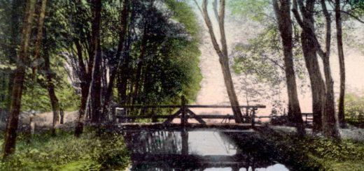 Die Welsebrücke im Tiergarten. Bildvorlage: Sammlung Garbas