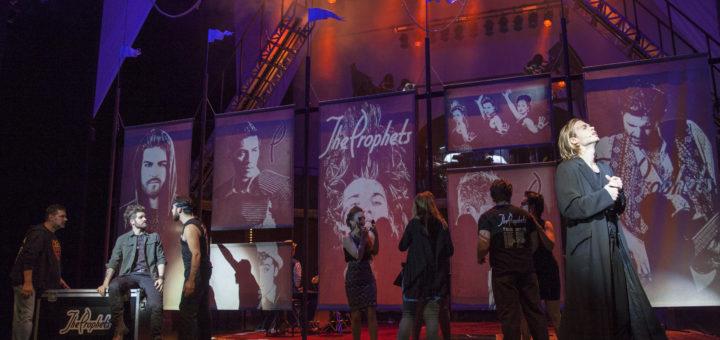 Oedo Kuipers schlüpft auch 2018 wieder in seine Rolle des Jesus Christus im Rockmusical Jesus Christ Superstar von Andrew Lloyd Webber.Foto: Stephan Walzl