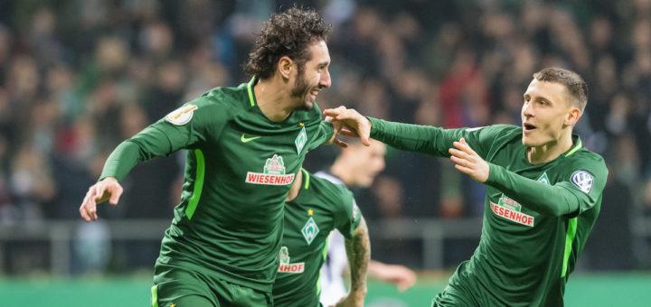 Ishak Belfodil brachte Werder bereits in der dritten Minute in Führung.