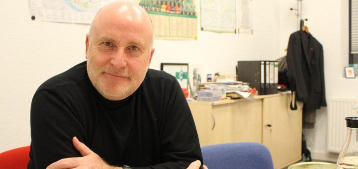 """""""2018 wird ein spannendes Jahr"""", sagt Ortsamtsleiter Peter Nowack. Foto: Harm"""