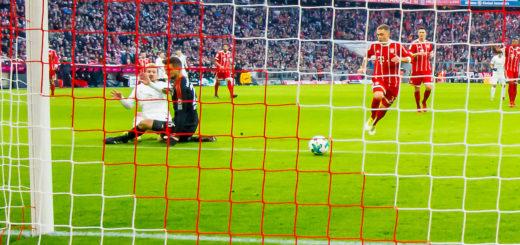 Werders Jérôme Gondorf gelingt das 1:0 für den Außenseiter. Foto: Nordphoto