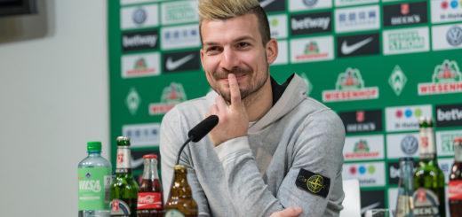 Zuversichtlich nach München: Werders Jérôme Gondorf. Foto: Nordphoto