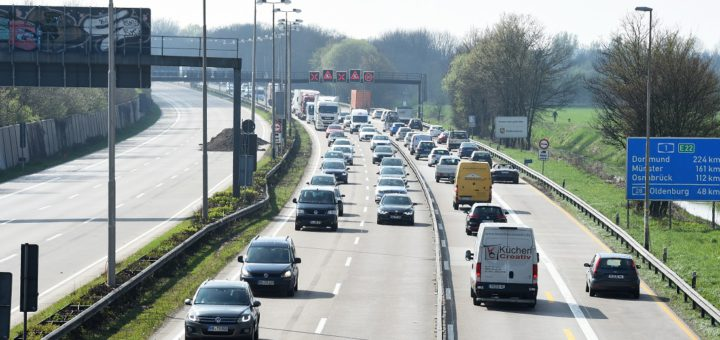 mar Staubilanz Autobahn A1 4sp4c. Foto: Schlie