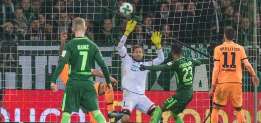 Selassie trifft zum 1:1 gegen Hoffenheim.