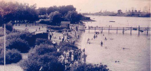 Das Familienbad am Lankenauer Strand besuchten Familien aus ganz Bremen.Foto: Kulturhaus Pusdorf
