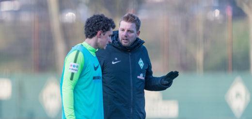Milos Veljkovic im Gespräch mit Florian Kohfeldt