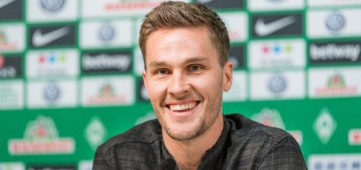 Guter Dinge: Werders neuer Abwehrmann Sebastian Langkamp Foto: Nordphoto