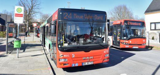 Die Linie 24 wird künftig auch in den Abendstunden das Lankenauer Höft anfahren. Foto: Schlie