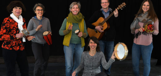 """Das Organisationsteam von """"Delmenhorst singt"""" will den Wollepark und die Jugendkirche am 20. April zum klingen bringen. Foto: Konczak"""