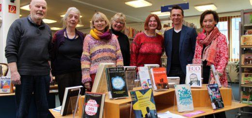 Autoren aus Bremen-Nord und Region veranstalten zwischen dem 4. April und 27. Mai 35 Lesungen an ungewöhnlichen Orten. Foto: Harm
