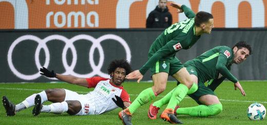 Zwei Tore eine Torvorlage: Werders Ishak Belfodil Foto: Nordphoto