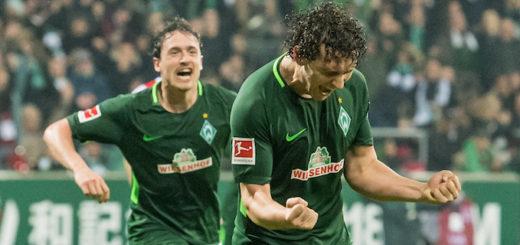 Milos Veljkovic sorgte gegen Köln für das 1:0. Foto: Nordphoto