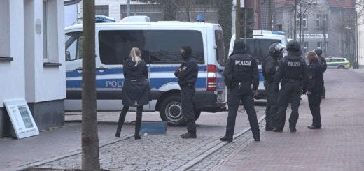 Die Polizei hat ihre Durchsuchung abgeschlossen. Foto: Eckert