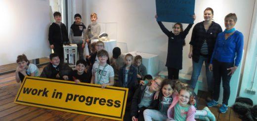 Schüler gestalten Museumsausstellung, Foto: Hafenmuseum