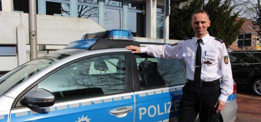 Maurice Myschker ist der Kontaktpolizist für Fähr-Lobbendorf. Foto: Harm