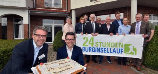 Kuchen für die Sponsoren: In wenigen Wochen steigt wieder der 24-Stunden Burginsellauf in der Delmenhorster Graft.Foto: Konczak