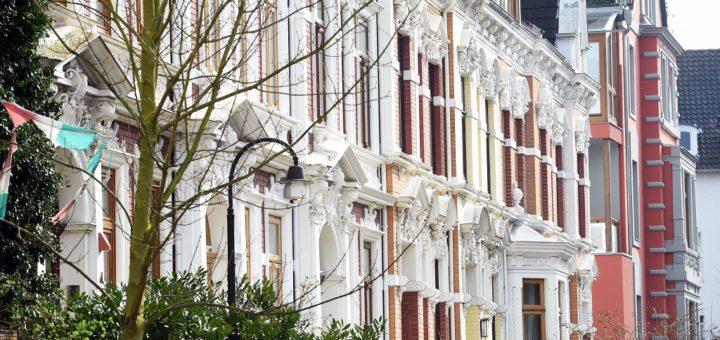 Hausfassaden Foto: Schlie
